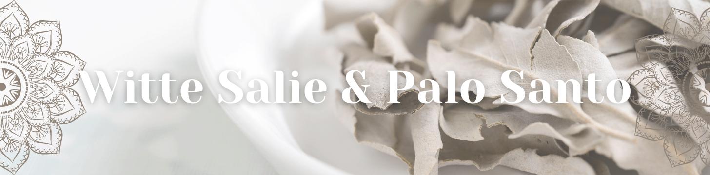 Witte Salie & Palo Santo Heilig Hout