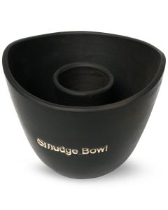 Grote Smudge Bowl Zwart