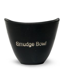 Kleine Smudge Bowl Zwart