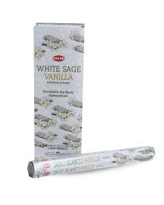 Hem White Sage Vanilla Hexa