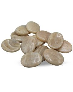 Oval Moonstones Cabs 12 units