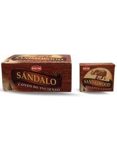 Hem Sandalwood Cones