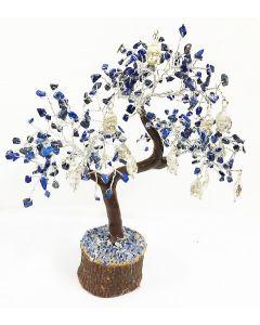 Edelsteenboom Lapis Lazuli met Boeddha Hoofd 300 Edelstenen - Spiritual