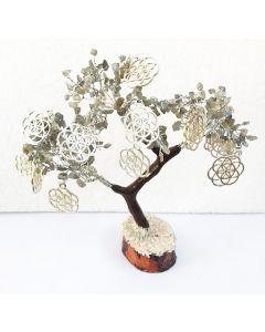 Edelsteenboom Labradoriet 300 Edelstenen - Balancing and Protecting