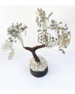 Edelsteenboom Labradoriet 160 Edelstenen - Balancing and Protecting