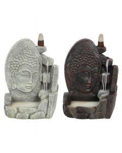 Boeddha Backflow Wierookhouder