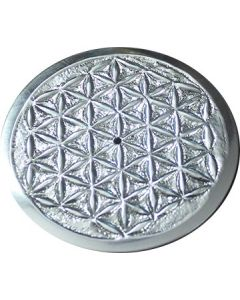 Metalen Flower of Life Wierookbrander