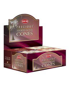 Hem Precious Assorted Cone
