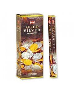 Hem Gold Silver Hexa