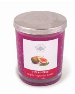 Green Tree Figs & Herbs Candle 200 Grams