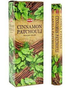 Hem Cinnamon Patchouli Hexa