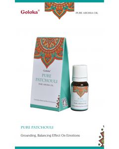 Goloka fragrance oil Pure Patchouli 10ml