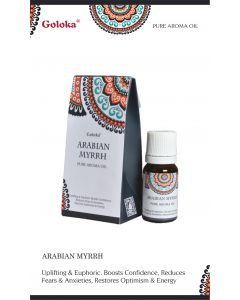 Goloka fragrance oil Arabian Mirrh 10ml