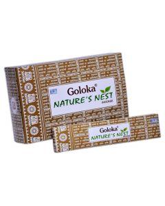 Goloka Wierook Nature's Nest 15 gr.