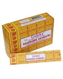 Goloka Nag Champa Incense 16 grams