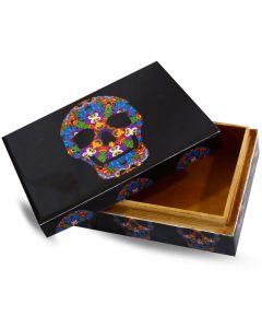 Mexican Skull Box (15x10cm)