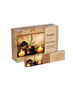 Goloka Wierook Aromatherapy Nutmeg 15 gr.