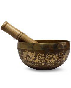 Brass Bowl HandMade 14 cm