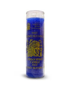 Screened candle Fast Money Blessing