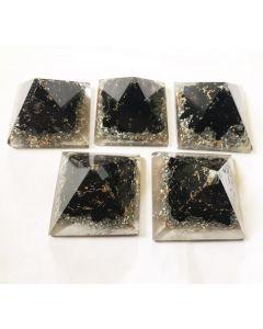 Orgoniet Baby Pyramide Zwarte Tourmalijn XS