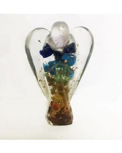 Orgone angel figurines-7 layers 5cm