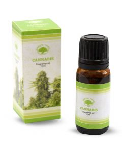 Green Tree Geurolie Cannabis 10ml