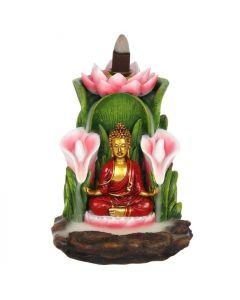 Kleurrijke Boeddha Backflow Wierookhouder