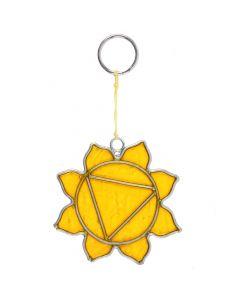 Solar Plexus Chakra Mini Symbol Suncatcher