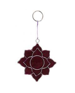 Crown Chakra Mini Suncatcher Symbol