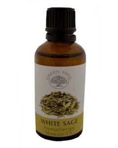 Massage Olie White sage
