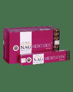 Golden Nag Meditation Incense 15 grams