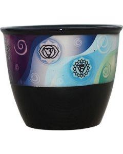 Ceramic Smudge Holder  CHAKRA