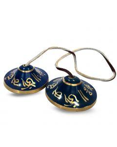 Ting-Sa Bell Third Eye Chakra -Cobalt