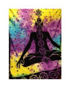 Seven Chakra Tapestry 240x220cms