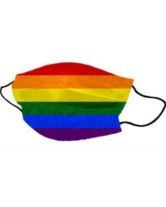 Yogi Mondkapje LGBTQ Flag
