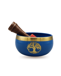 Singing bowl blue Tree Of Life 9 cm