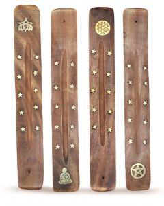 Wooden Incense Stick Holder Set of 12 pcs.