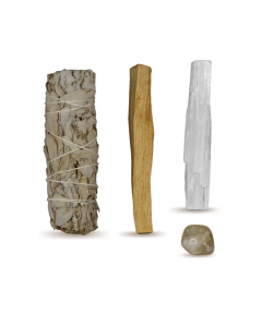 Energy Cleansing Smudge Kits w/ Citrine