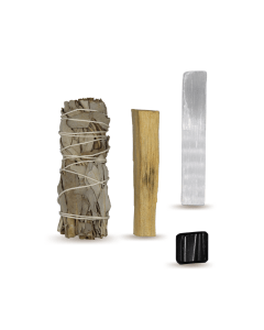 Energy Cleansing Smudge Kits w/ Tourmaline