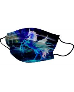 Yogi Mondkapje Unicorn Water