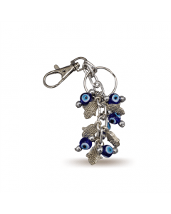 Key Chain - Evil Eye and Mini Hands