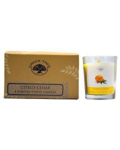 Geurkaars votives Citrus Cedar 55gr.