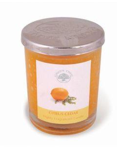 Geurkaars Citrus Cedar 200gr.
