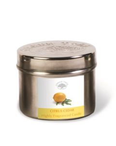 Geurkaars Citrus Cedar 150gr.