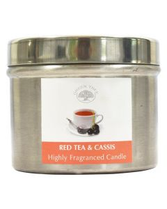 Geurkaars Red Tea & Cassis 150gr.