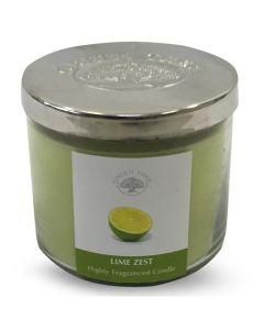 Geurkaars Lime Zest 400gr.