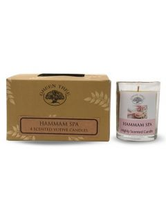 Geurkaars votives Hammam Spa 55gr.