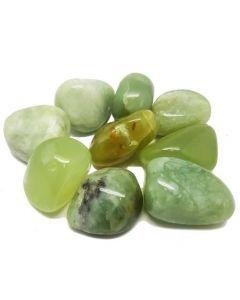 Serpentine tumbled stones 250gr