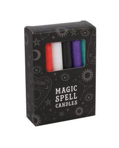 Magic Spell Kaarsen (Gemengde Kleuren - 12 stuks)