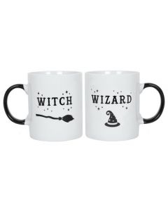 Witch and Wizard Beker set